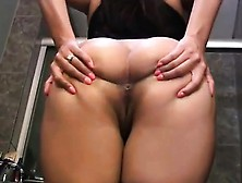 Brunette Showing Your Booty - Burstpussy(Dot)Com