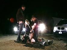 Jessica Drake Scopata Nel Parcheggio All'aperto Da Alcuni Sconos