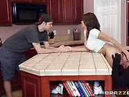 Big Dicked Burglar Gets An Unexpected Fuck From Cassidy Banks