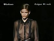 Porn Movies Oops - Lingerie Runway Show - See Through And Nude -