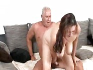Besides Cleaning The House She Fucks The Old Man