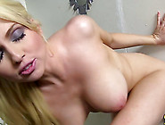 Charming Christie Stevens Sucks A Big Black Cock And Serves A Ha