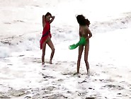 2. Girls. Nude. At. The. Beach