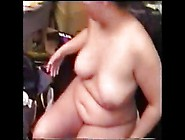 Bbw Milf Filling All Holes And Drinking Cum From A Glass