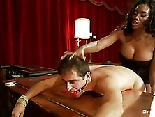 Black Chick In White Dress,  Nyomi Banxxx Got Fucked From The Bac