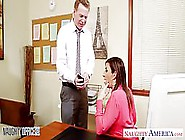 Kinky Milf With Big Breast,  Sara Jay Is Fucking Her Horny Boss,