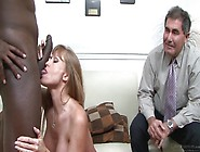 Interracial Hardcore Fuck In Front Of Her Hubby,  Darla Crane