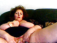 Horny Amateur Granny Fucks Her Pussy With Sex Toy