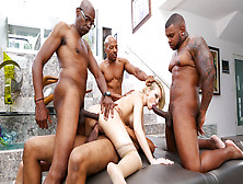 Kagney Lynn Karter & Rico Strong & Sean Michaels In Blacked Out,