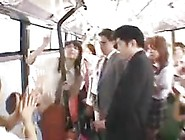 Free Porn Luckiest Guy Ever - Japanese Schoolbus - Part 2