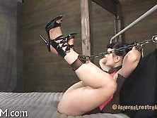 Some Chains High Heels And Her Wet Pussy