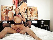 Jessye Gets Her Old Pussy Licked And Fucked Deep And Hard