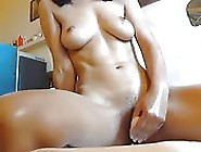 Cam Girl Shows Off Her Tight,  Young Body