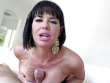 Impeccable Dark-Haired Chick And Her Great Cock Sucking Abilitie