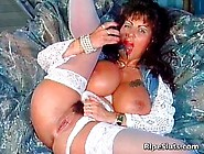 Gorgeous Mega Boobed Mature Slut Uses Her Favourite Toys