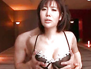 Killing And Pretty Japanese Angel With Big Boobs Is Sucking Dick