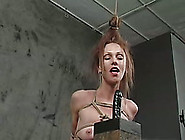 Redhead Milf Gets Face-Fucked And Humiliated In A Cellar