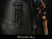 Disobedient Hardcore Bitch Spanked And Whipped In Bdsm