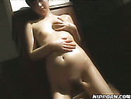 Slutty Asian Gal Gets Her Hairy Twat Toy Fucked Rough