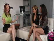 Ariella Ferrera & Prinzzess In Fashion House #02,  Scene #02