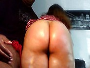 Spanking My Big Booty Latina Wife,  Thick,  Juicy,  Pink Pussy.  Spa