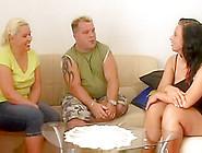 Mandy Blue Visit A Concupiscent Pair