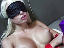 Stacked Blonde Rikki Six Gets Her Pussy Pleased And Blows A Big