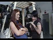 Hot Lesbian Forklift Sex With Karlie Montana And Cadence St John