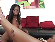 Three Hot Black Girls Eating Pussy And Playing With Dildos
