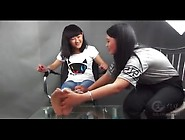 Chinese Foot Tickling Bandage Torture