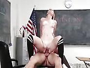 Sexy Blonde In Detention