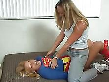 Erotic Superheroines - Supergirl Spanked & Humiliated