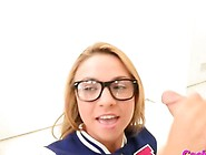 Katerina Kay In Glasses Sex With Big Rod