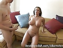Horny Girls And Handsome Guys Are Having Group Sex In A Huge Liv