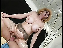 Kitty Fox Is A Granny Who Is A Hot Fuck,  She Takes It In Both Ho