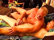 Young Hunky Dude Gets His Balls Worked Over By Very Experienced