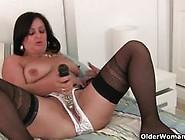 Nasty Older Women Having Fun With Big Dildos.