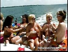 Yacht Granny Orgy Part Three