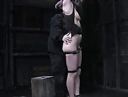 Cute Carrie Has Slapped,  Tied Up And Gagged
