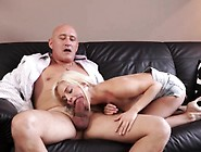 Old Woman Blowjob And New S Horny Ash-Blonde Wants To Try