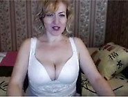 Russian Blonde Mature Mom Talks Dirty