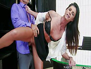 Elegant Long Legged Milf India Summer