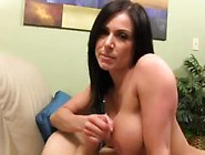 Kendra Lust Handjob