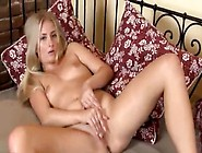 Gyno Toys And Beautiful Italian Blondie