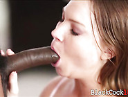 Sexy Brunette Teen Tiff Banister Fucked By Big Black Cock