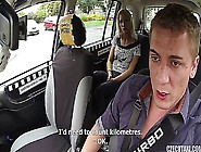 Beautiful Girl Gets Fucked In A Taxi E13