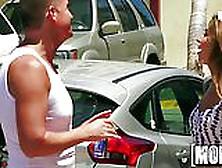 Melissa Moore Bangs A Random Stranger - Mofos. Com