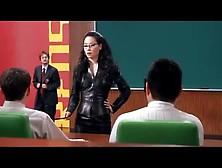 Lucy Liu Tight Black Skirt Charlies Angels. Avi