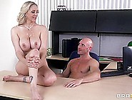 Mommy Got Boobs: Mom Blows The Job.  Julia Ann,  Johnny Sins