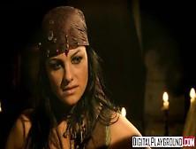 Classic Pirates 2: Jesse Jane And Belladonna In Hot Rough Lesbia